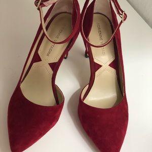 Leather heels 👠